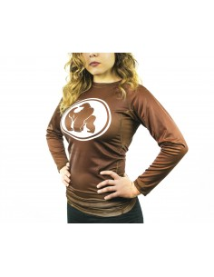 Gorila Brown Rashguard -...