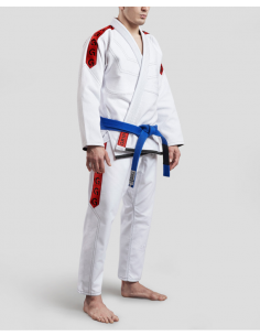 GR1PS Classic-Gi White/Red